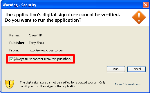 CrossFTP / Knowledgebase / How to install CrossFTP
